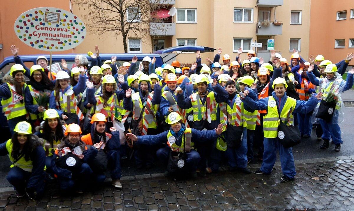 Karnevalszug Köln Mülheim